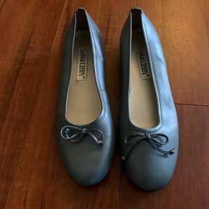 Sam & Libby Ballerina Shoes Blue Size 8.5